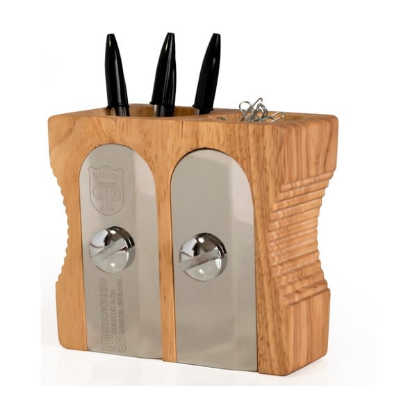Stojánek na tužky Suck UK Double Sharpener Desk Tidy