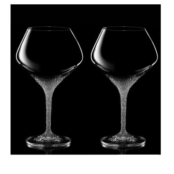 Sada 2 sklenic na víno Poseidon se Swarovski Elements v luxusním balení