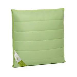 Zelený polštář s bambusovými vlákny Green Future Nature, 60 x 60 cm