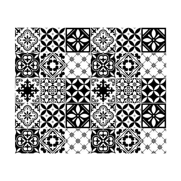 Set 30 autocolante perete Ambiance Rosario, 20 x 20 cm