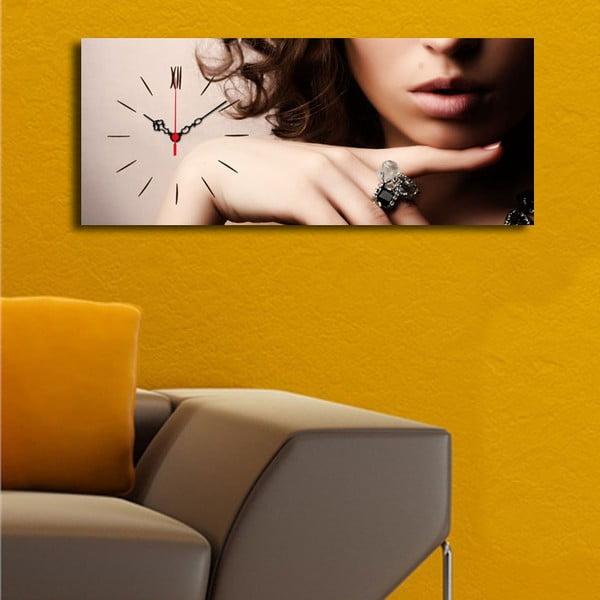Obrazové hodiny Femme Fatale