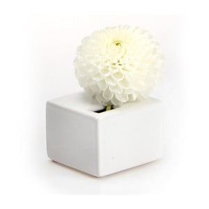 Vázička Cube, white