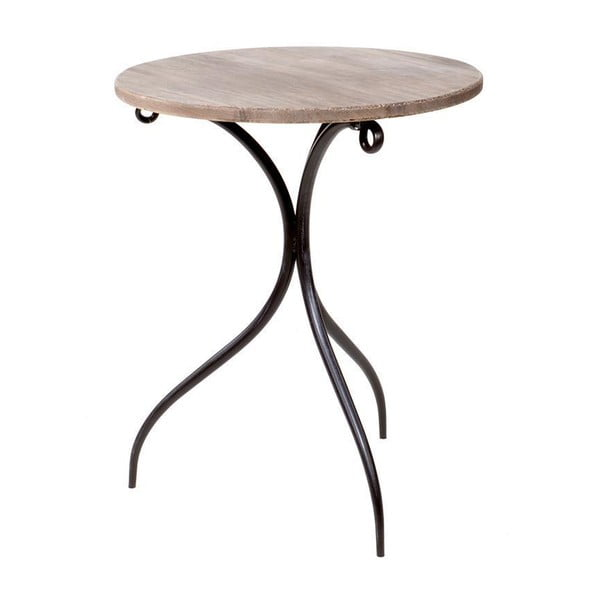 Odkládací stolek Wooden Brown, 50x60 cm