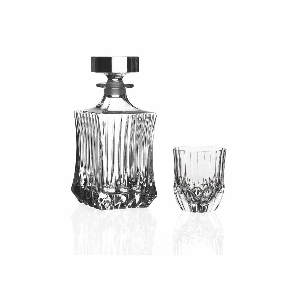 Set karafy a 6 sklenic na whisky RCR Cristalleria Italiana Jessica