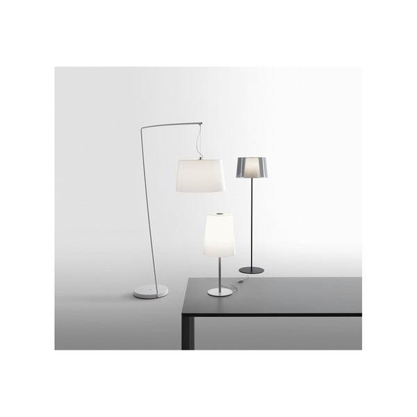 Stojací lampa Pedrali L001ST/BA, kouřové transparentní