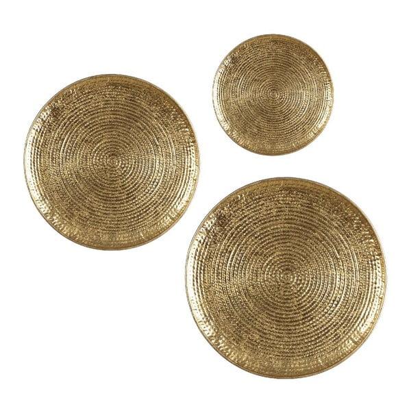 Set 3 táců Round Dorado