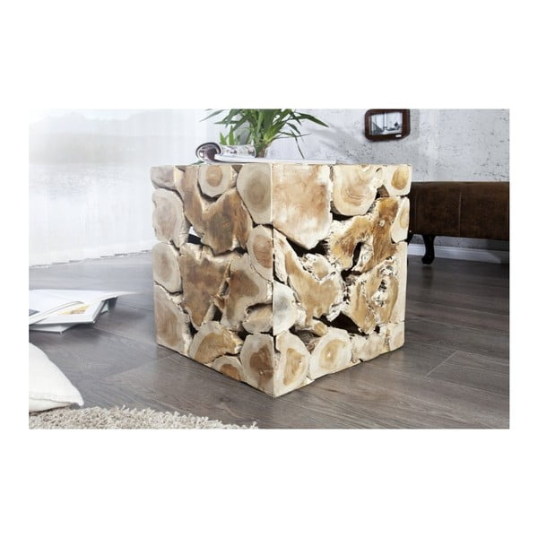 Măsuță din lemn de tec masiv SOB