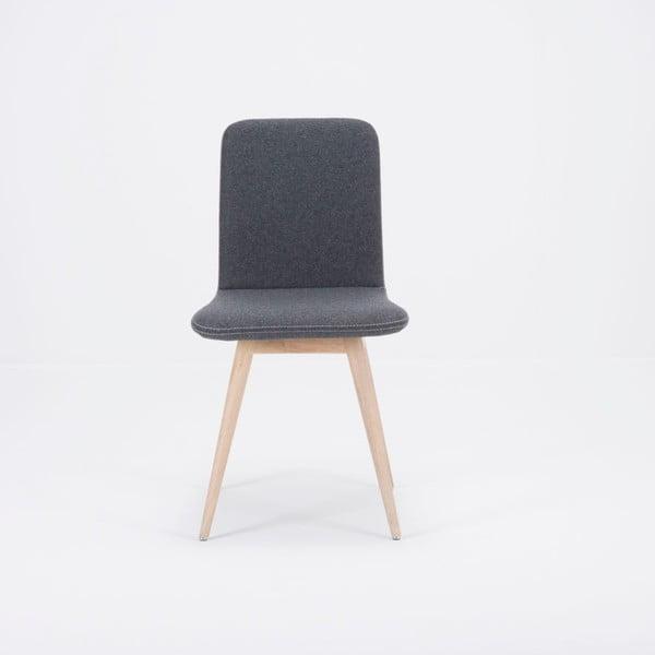 Ena szürke tölgyfa szék - Gazzda
