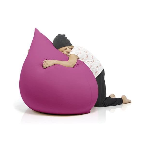 Růžový sedací vak Terapy Elly