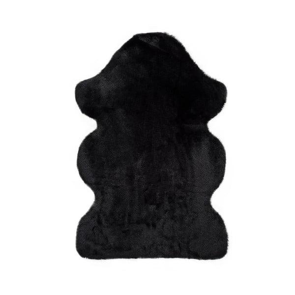 Fox Liso fekete szőnyeg, 60 x 90 cm - Universal