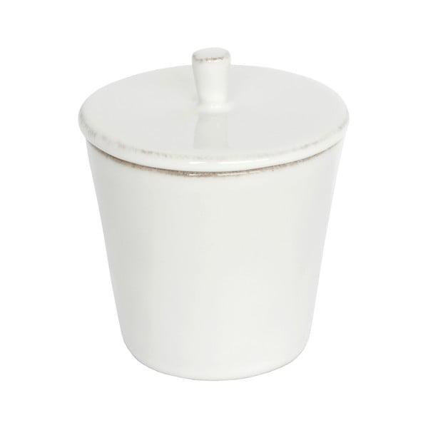 Biela kameninová cukornička Ego Dekor Nova, 200 ml