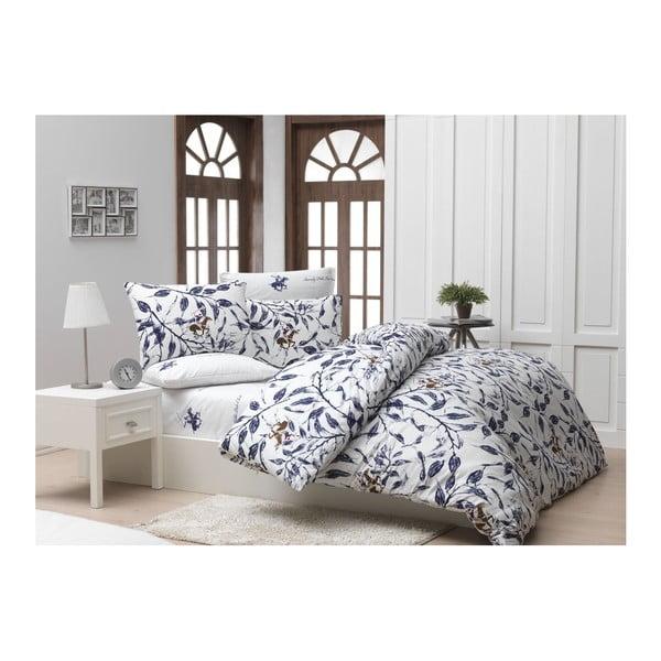 Lenjerie de pat cu cearșaf Beverly Hills Polo Club Hackman, 200 x 220 cm