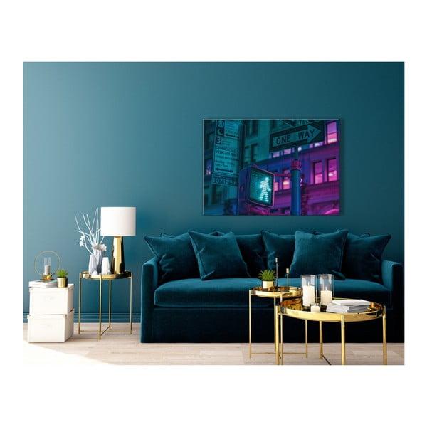 Obraz Styler Glasspik Neon Green Light, 70 x 100 cm