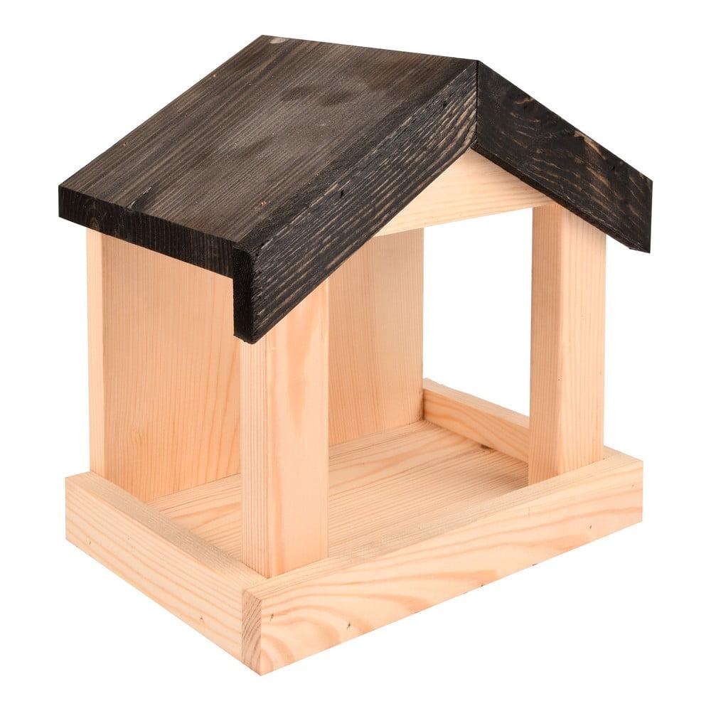 Dřevěné krmítko pro ptactvo Esschert Design Shelter