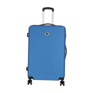 Modrý cestovní kufr LULU CASTAGNETTE Mia, 107l