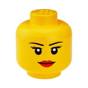 Úložný panáček LEGO® Girl, Ø16,3cm