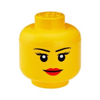 Figurină depozitare LEGO® Girl, ⌀ 16,3 cm imagine