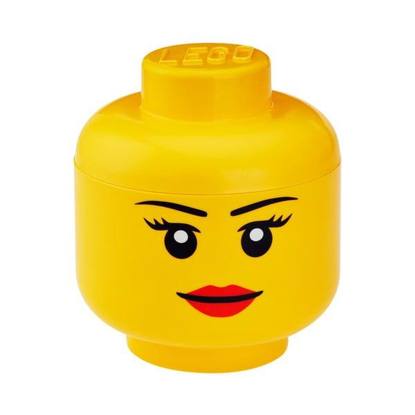 Figurină depozitare LEGO® Girl, ⌀ 16,3 cm