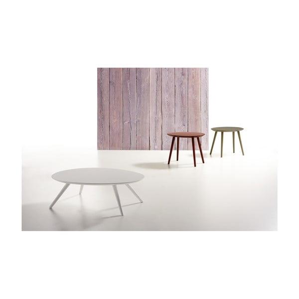 Bílý konferenční stolek Zago Thin