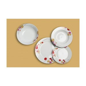 Porcelánová sada 19 talířů Spring