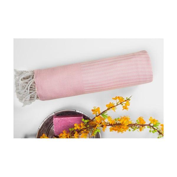 Hammam osuška Loincloth, růžová