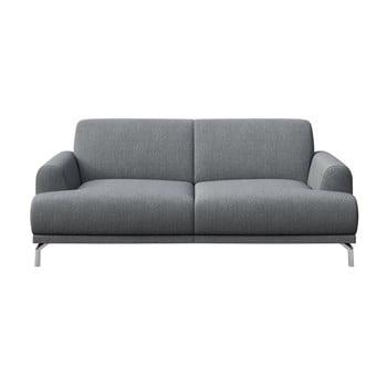 Canapea cu 2 locuri MESONICA Puzo gri deschis