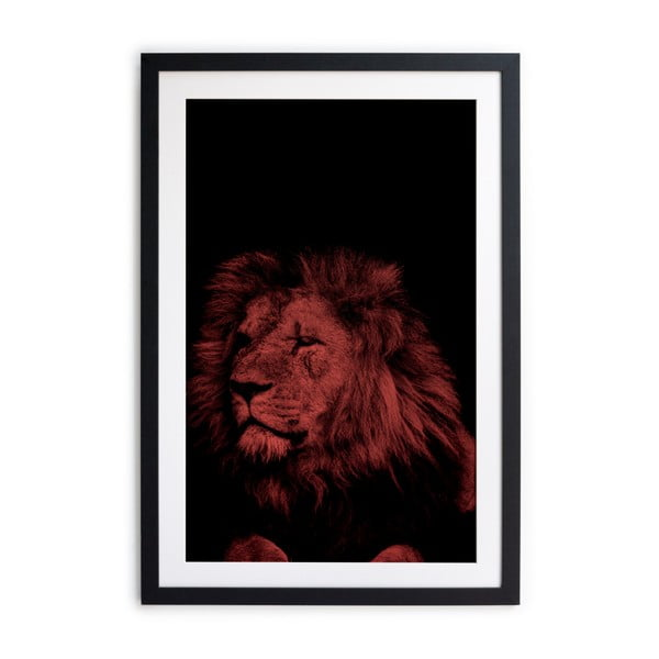 Zarámovaný plakát Really Nice Things Lion Roar, 40 x 60 cm