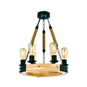 Závěsné svítidlo z habrového dřeva Alara Natural 6lı