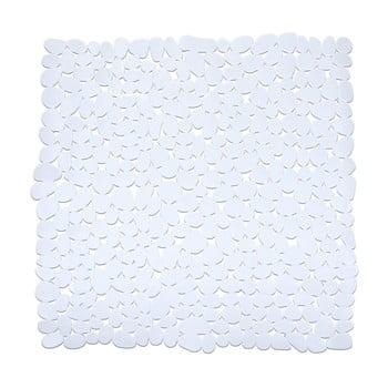 Covor baie anti-alunecare Wenko Drop, 54x54cm, alb de la Wenko