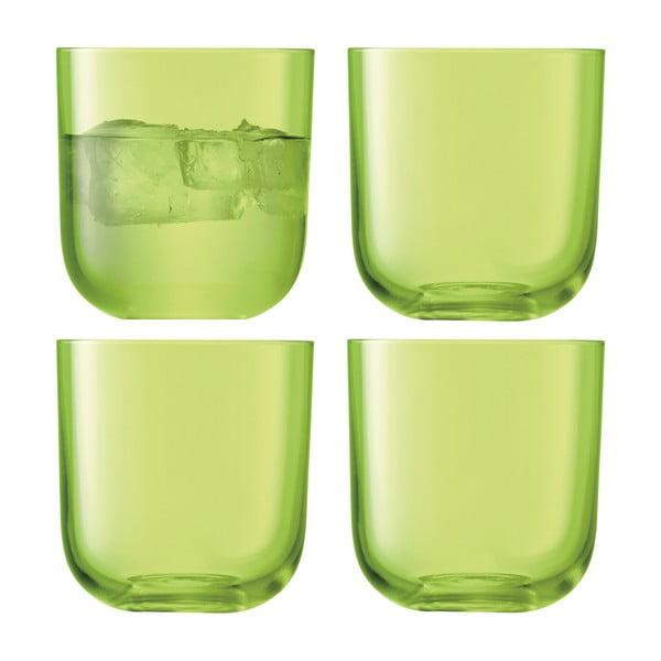 Centro Lime, nízká sklenice, sada 4 ks