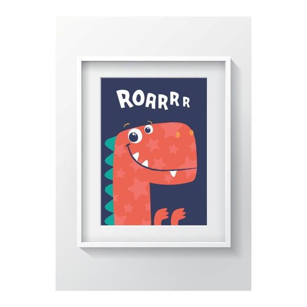 Nástenný obraz OYO Kids Roar, 24 x 29 cm