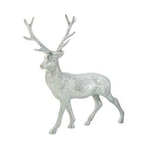 Stříbrný dekorativní jelen Talking Tables