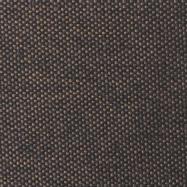 Trojmístná pohovka Miura Musa, hnědý textilní potah