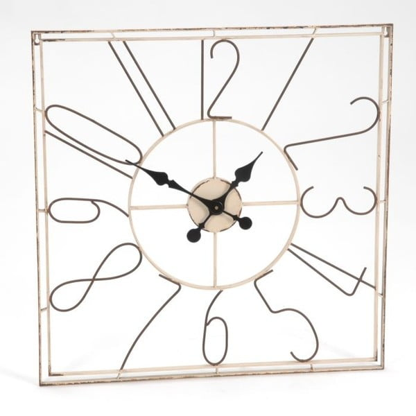 Nástěnné hodiny Square Clock, 71 cm
