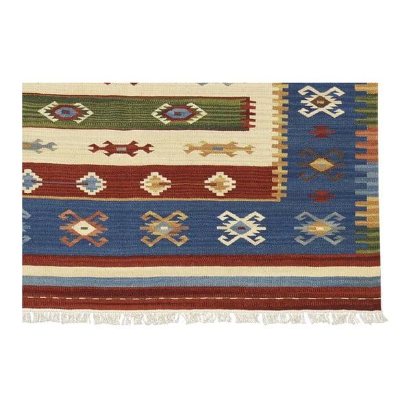 Vlněný koberec Kilim Classic AK07 Mix, 155x215 cm