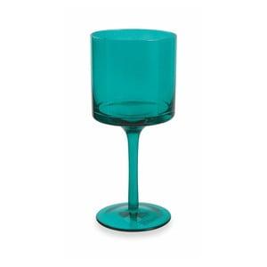 Sada 6 tyrkysově modrých sklenic na víno Villa d'Este Cala Kondal, 450ml