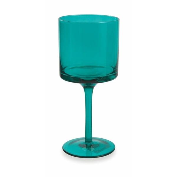 Set 6 pahare de vin Villa d'Este Cala Kondal, 450 ml, turcoaz albastru
