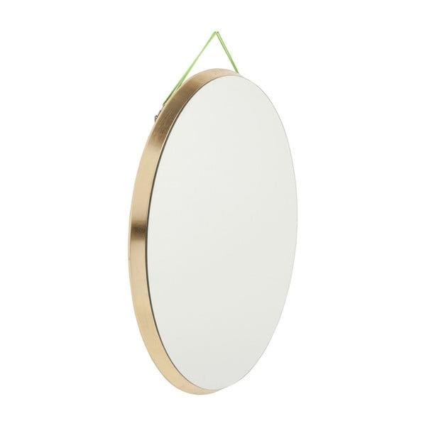 Okrúhle nástenné zrkadlo Kare Design Jetset, Ø 73 cm