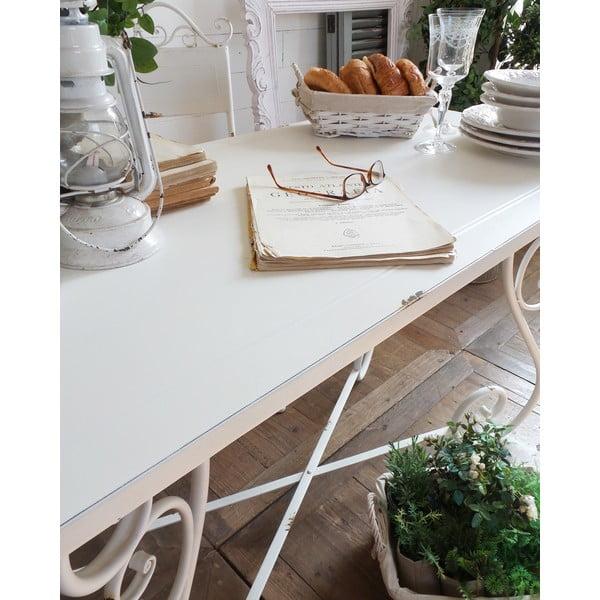 Kovový stůl Old White