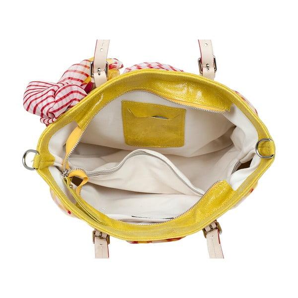 Kabelka Monza, žlutá