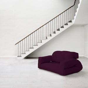 Canapea extensibilă Karup Hippo Purple Plum