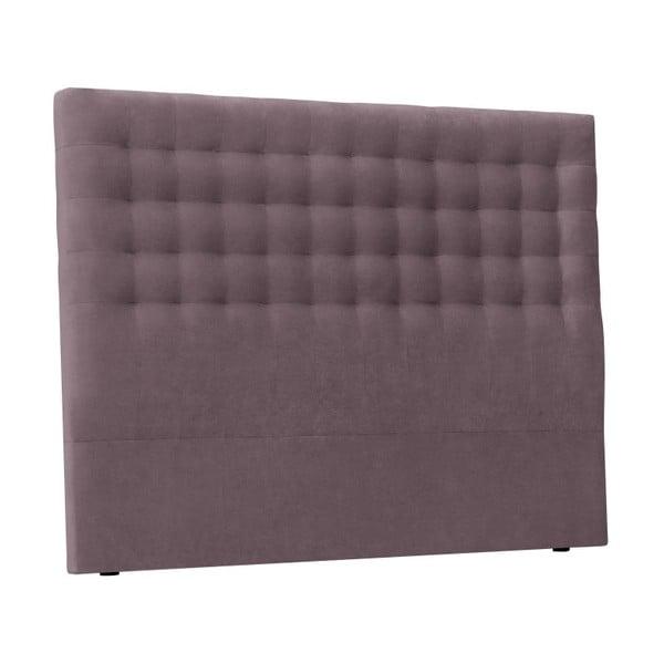 Fialové čelo postele Windsor & Co Sofas Nova, 160 x 120 cm