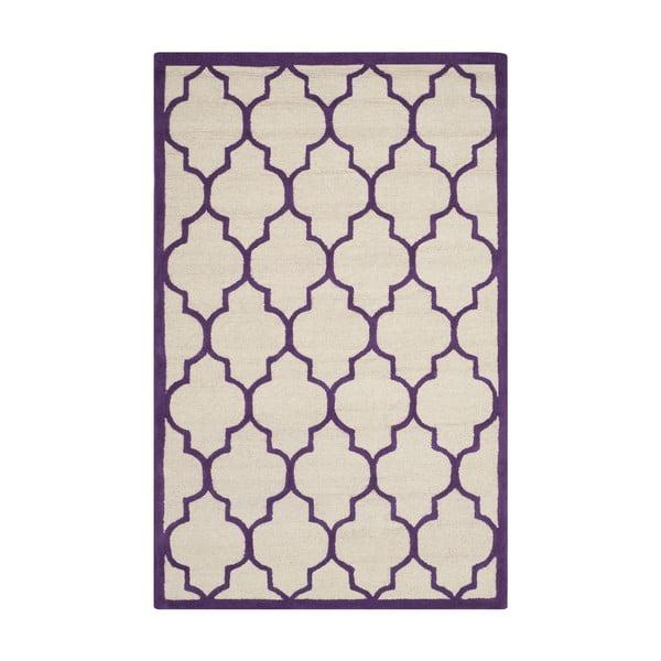 Vlněný koberec Safavieh Everly Violet, 243 x 152 cm