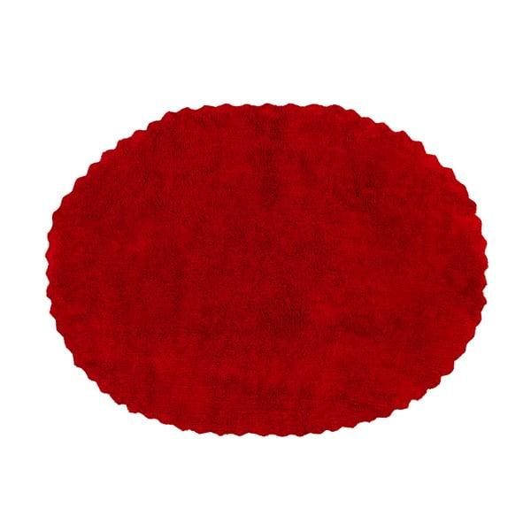 Koberec Blonda 160x120 cm, červený