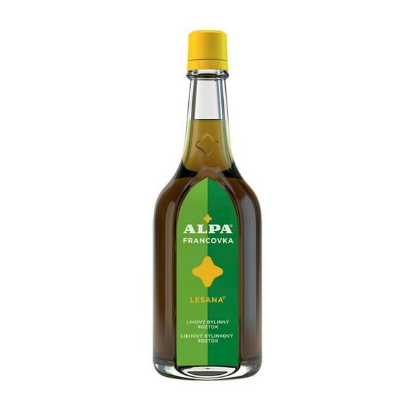 Alpa Francovka Lesana alkoholos oldat, 4 x 160 ml