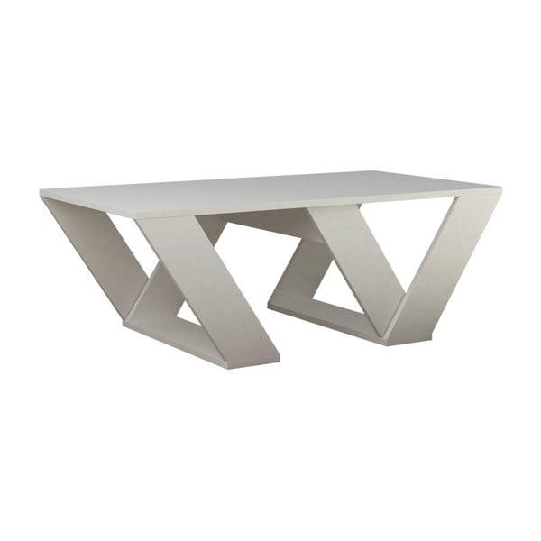 Pipra fehér dohányzóasztal - Homitis