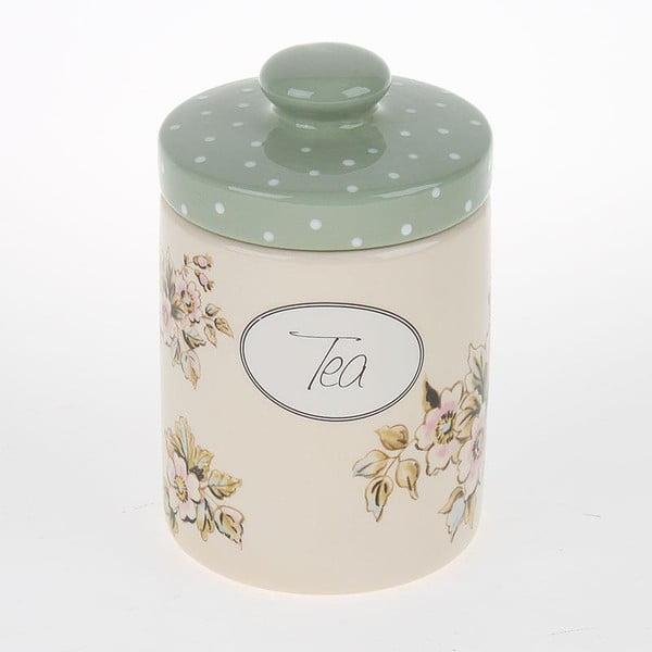 Porcelánová dóza na čaj Tea with Flower