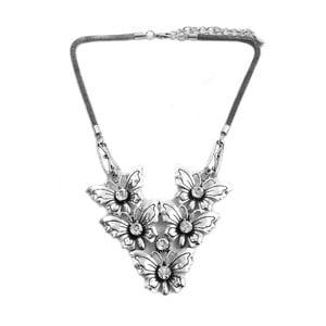 Náhrdelník Silver Butterflies