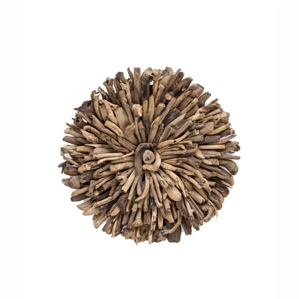 Drift újrahasznosított fa fali dekoráció, ⌀ 70 cm - WOOX LIVING