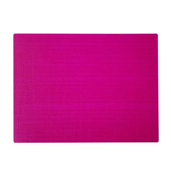 Purpuroworóżowa mata stołowa Saleen Coolorista, 45x32,5cm